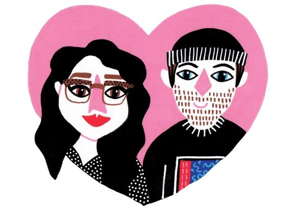 Valentines portrait