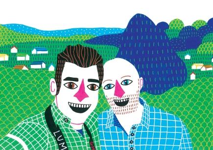 Married couple portrait 2